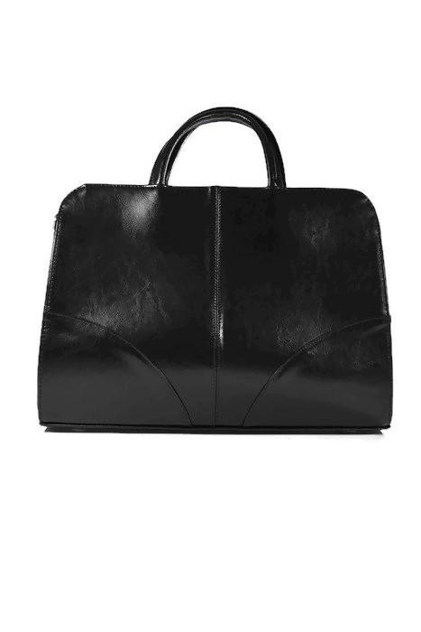 czarna torebka damska skórzana