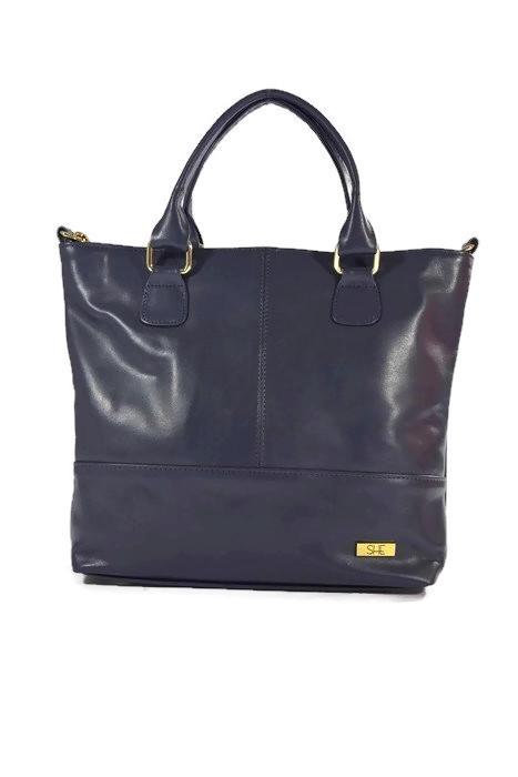 Klasyczna torebka damska ze skóry