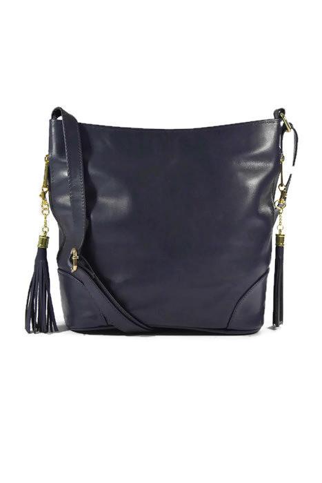Skórzana torebka listonoszka dla kobiet