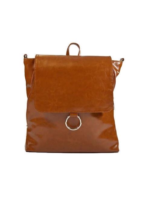 Brązowy plecak skórzany vintage