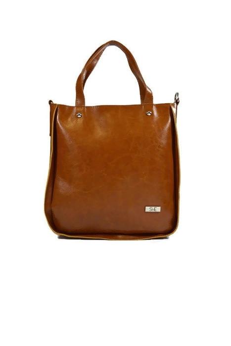 Klasyczna skórzana torebka damska