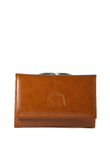 Klasyczny skórzany portfel DAN-A
