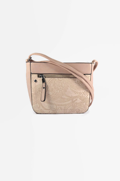 Różowa torebka listonoszka dla kobiet