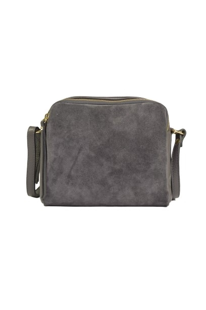 Szara torebka listonoszka dla kobiet