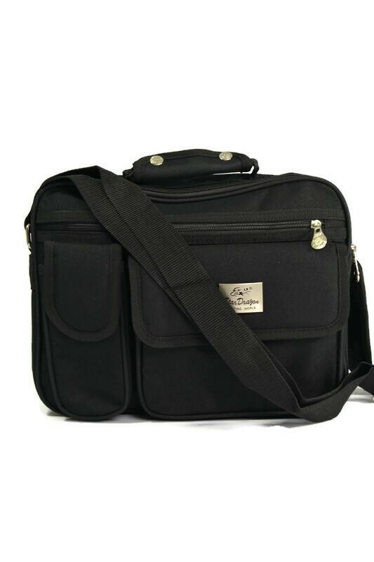 Czarna męska torba laptopówka
