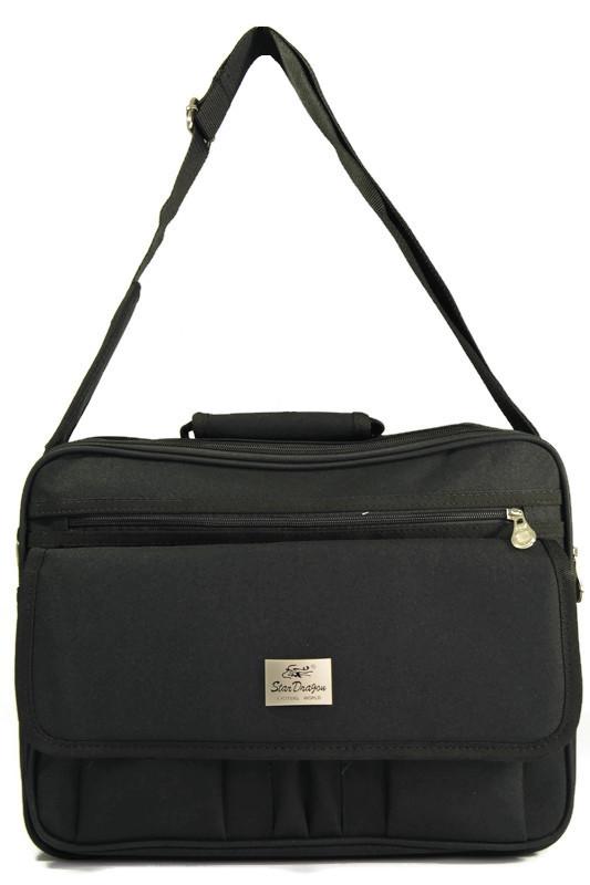 Męska torba laptopówka czarna