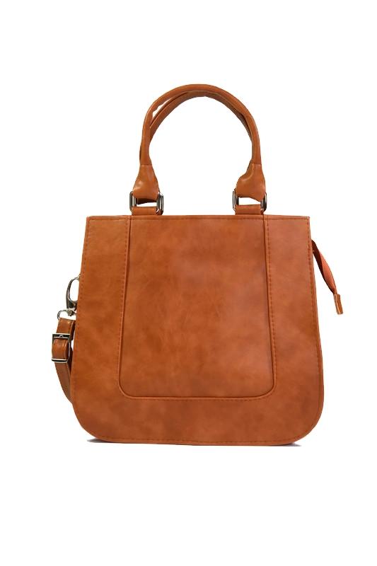 Brązowy kuferek dla kobiet DAN-A