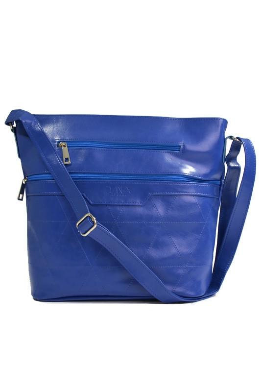 Klasyczna torebka worek niebieska
