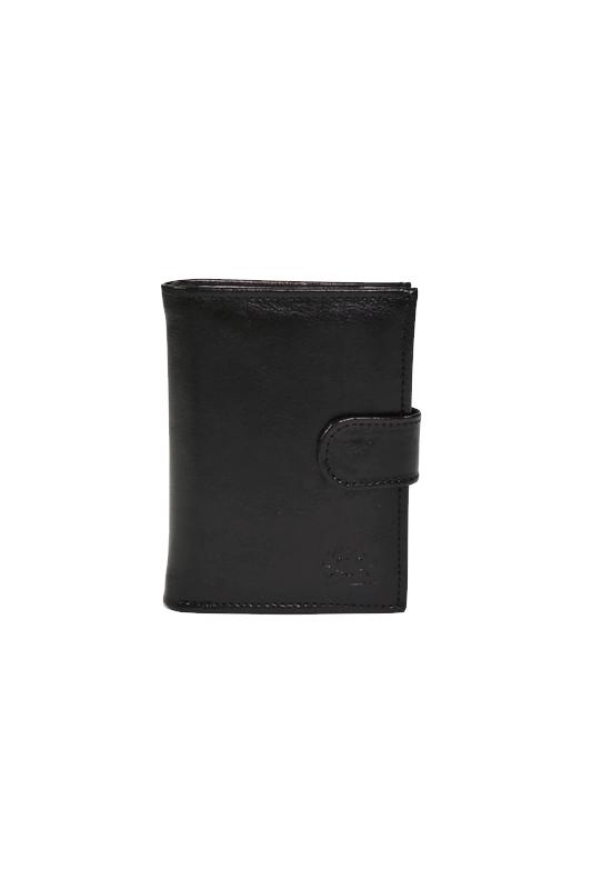 Męski portfel ze skóry czarny DAN-A