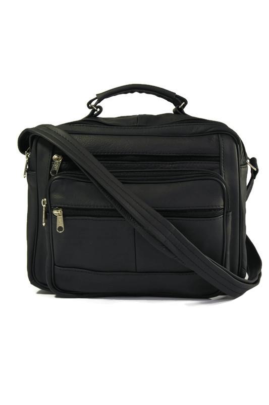 Męska torba laptopówka skórzana