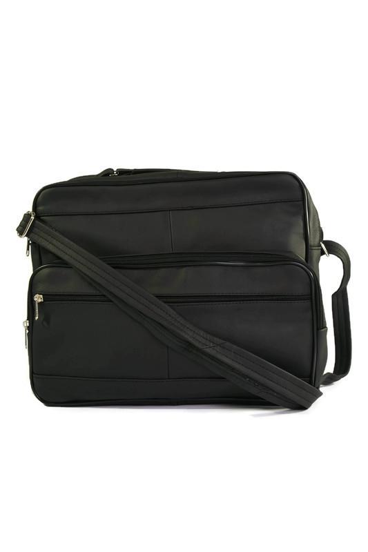 Skórzana męska torba laptopówka