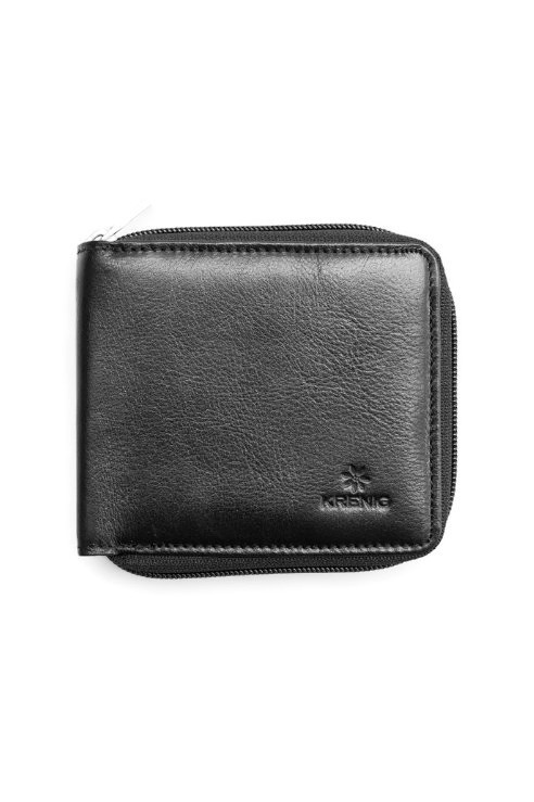 Mały skórzany portfel męski Krenig