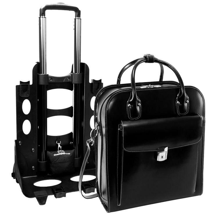 Damska torba z odpinanym wózkiem La Grange na laptopa 15,6″