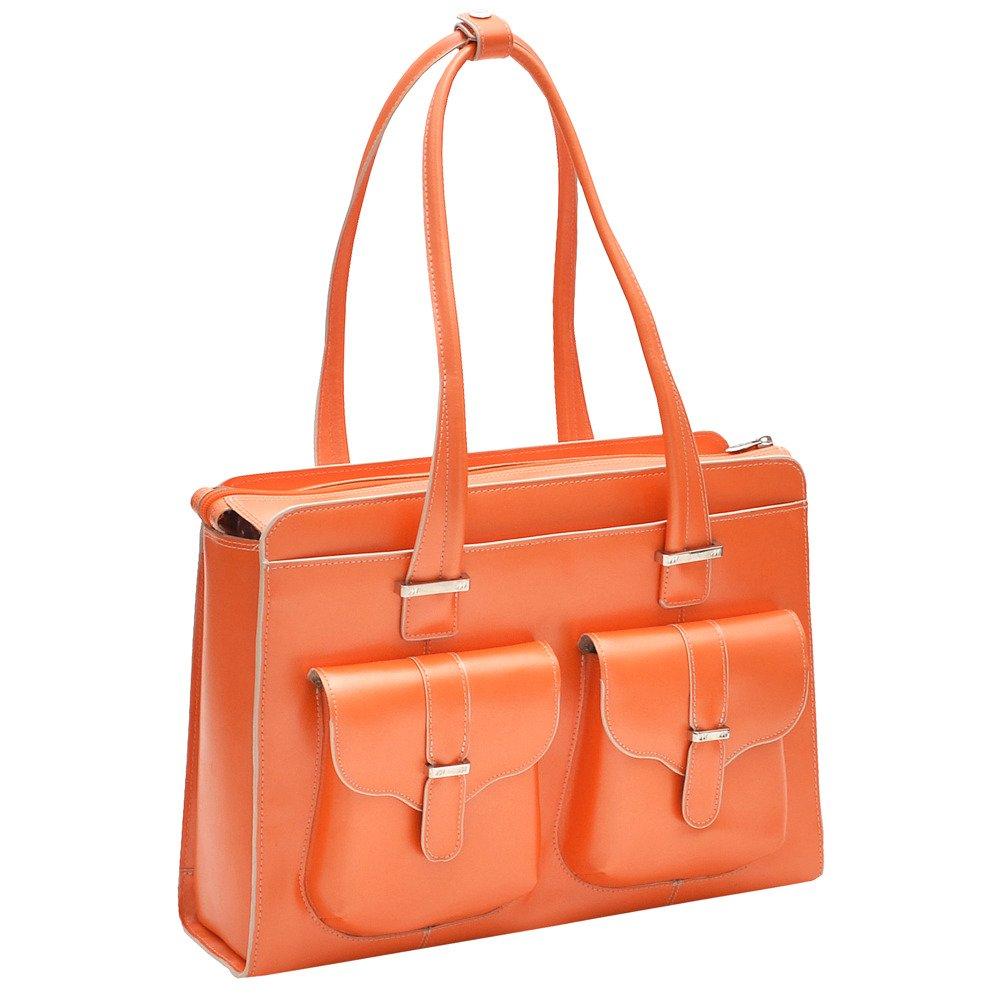 Skórzana damska torba na komputer Orange Alexis 15,6″